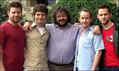 Hobbits with Peter Jackson